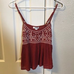 Cute red tank from forever 21